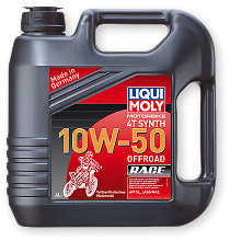 Motorbike 4T Synth 10W-50 Offroad Race Liqui Moly