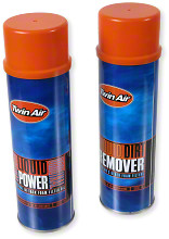 Twin Air Spray Pak - Dirt Remover And Oil Kit