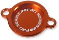 RFX Pro Oliefilter Cover Orange KTM 4T